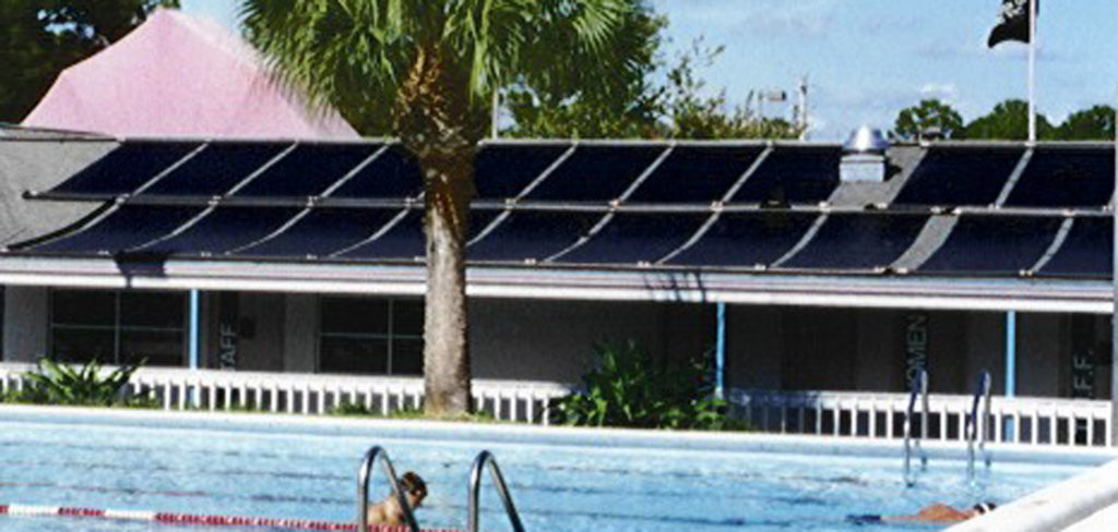 Commercial Solar Pool Heater