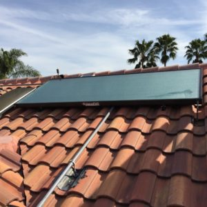 Solar DHW Tile Roof