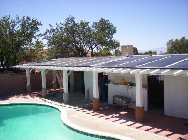 Residential Solar Pool Heater
