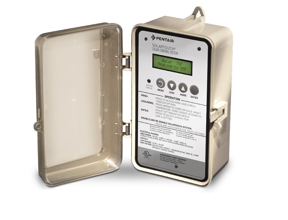Solar Pool Heater Controller. Solar Pool Heater Panels Thermostat
